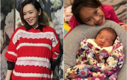 Hong Kong actress Shirley Yeung gives birth to second child