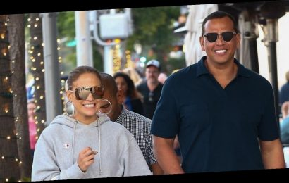 Jennifer Lopez and A-Rod Are Making Coordinated Athleisure a Thing