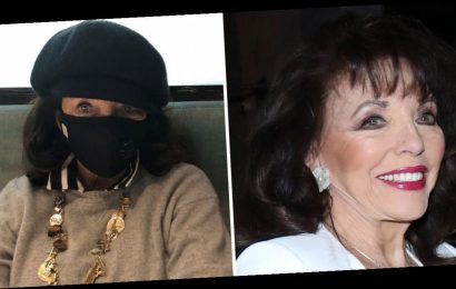 Joan Collins slams panic buyers and compares 'terrible' coronavirus pandemic to her experience of war