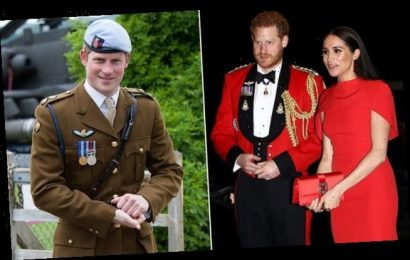 Prince Harry was 'devastated' at having to give up his army post
