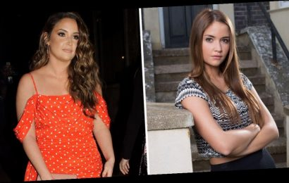 Jacqueline Jossa says she searched her name online 'every day' after being branded 'fat Lauren Branning' on EastEnders