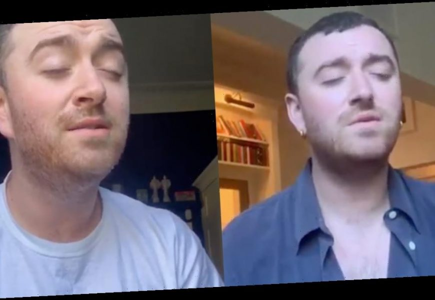 If You're in Need of a Little Cheer, Watch All of Sam Smith's At-Home Performances