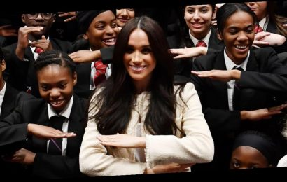 "Meghan Markle Encourages Students to ""Rally Together"" in International Women's Day Speech"