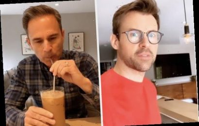 I'm Addicted To Watching Brad Goreski Try To Perfect His Husband's Very Specific Starbucks Drink While In Quarantine