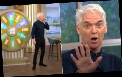 This Morning's Phillip Schofield assures fans he's healthy following coughing fit on air