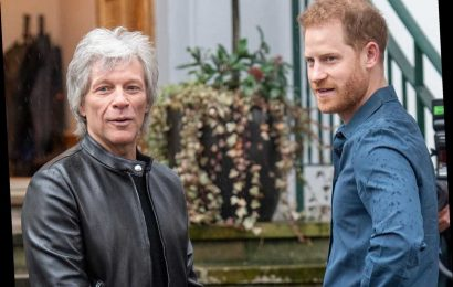 Bon Jovi Teams Up With Prince Harry on New Charity Track 'Unbroken'