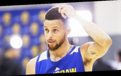 Steph Curry Quickly Stops Himself From Coughing During NBA Press Conference About Coronavirus