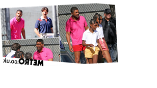 Will Smith films with young Venus and Serena Williams on biopic set