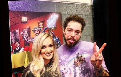 Carrie Underwood Hangs Out With Post Malone, Meets His Mom