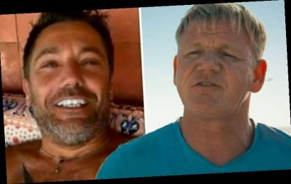 Gino D'Acampo leaves Gordon Ramsay speechless as Road Trip star strips naked for ITV show
