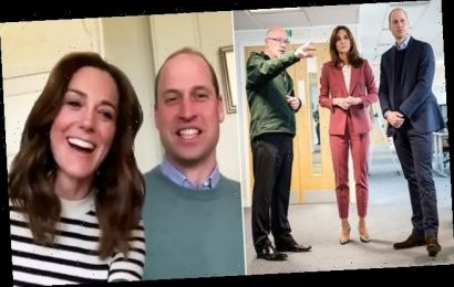Prince William and Kate Middleton much 'PREFER' video calls