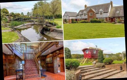 'Truly extraordinary' six-bed farmhouse with four acres of land in Wales on sale for £2 million – The Sun