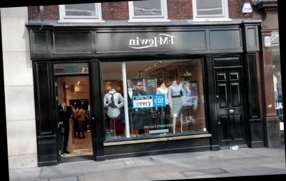 TM Lewin puts itself up for sale as the struggle on the high street continues