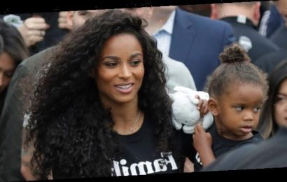 Ciara's Daughter Sienna, 2, Jumps All Over Her During 'Quarantine Day Number 20' – Watch