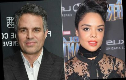 Tessa Thompson and Mark Ruffalo Tease 'Over-the-Top' Thor: Love and Thunder Details on Director's Instagram