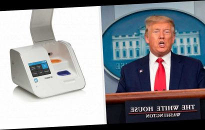 Trump Praised The New 5-Minute Coronavirus Testing Machines. But The Feds Are Only Planning To Send States Up To 15 Each.