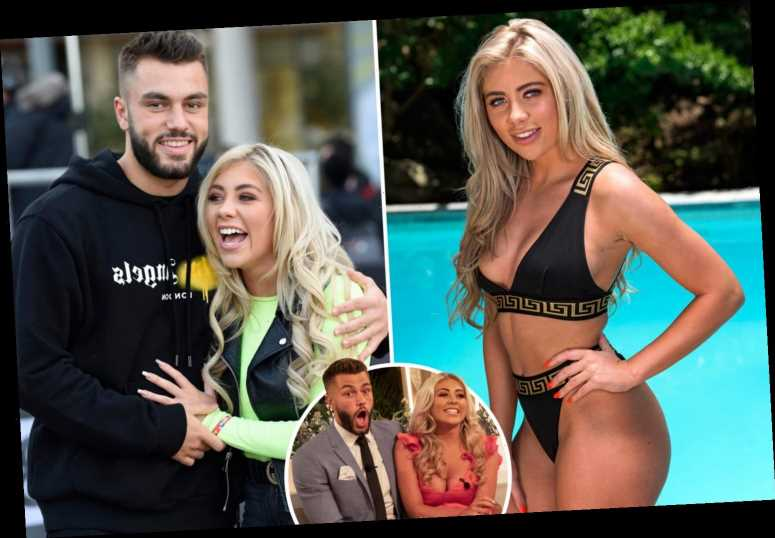 Love Island's Paige Turley says she needs a bigger bed after moving in boyfriend Finn Tapp during lockdown