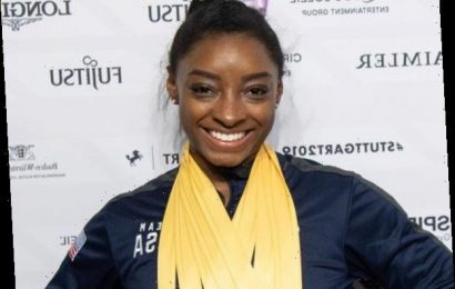 Watch Simone Biles' Epic Take On the Handstand Challenge