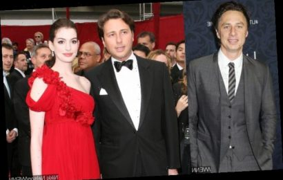 Zach Braff Close to Getting a Beating From Anne Hathaway's Dad Over Resemblance to Her Ex