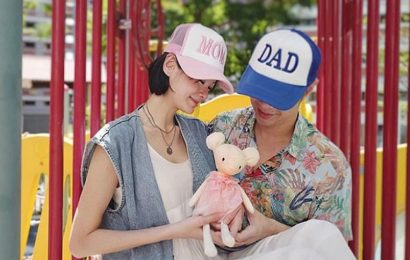 Sheila Sim pregnant with baby girl