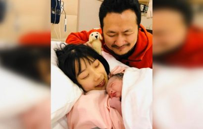 Apple of his eye: Taiwanese director Giddens Ko announces birth of daughter