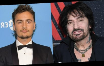 Tommy Lee and Son Brandon Spend Quarantine Together After Ending Feud