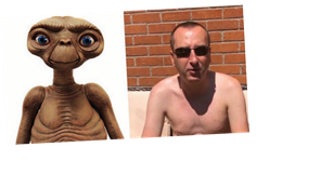 Coronation Street's Alan Halsall hilariously compares shirtless snap of co-star Andy Whyment to E.T.