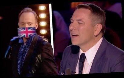 Britain's Got Talent's David Walliams branded a w***** as contestant storms off stage