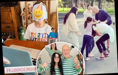 Bruce Willis celebrates daughter's 6th birthday after wife Emma and kids join him at ex Demi Moore's Idaho estate – The Sun