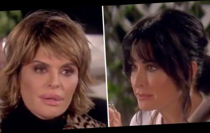 'RHOBH': Kyle Richards Tells Rinna to 'F–k Off' After She Brings Up Kim