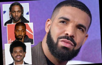 Drake risks reigniting feuds with Kanye West, The Weeknd and Kendrick Lamar in shock new record – The Sun