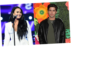 Demi Lovato's Instagram Video Kissing Max Ehrich Shows How In Love They Are