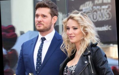 Michael Bublé received death threats over controversial video with wife