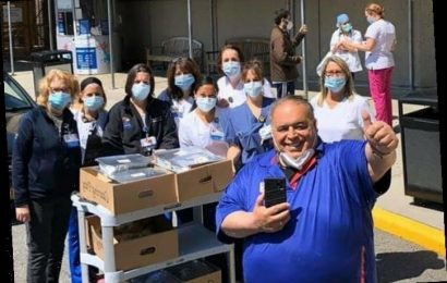 'Sopranos' Star Joe Gannascoli Isn't Podcasting; He's Out Feeding Essential Workers