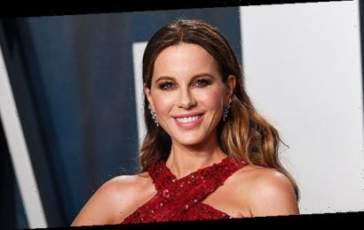Kate Beckinsale Proves She Has Legs For Days As She Plays With Her Dog In Cute Video — Watch: