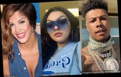 Blueface's Baby Mama Jaidyn Alexxis Reacts After He Shows 'Bad Girls Club' Alum Rocky at His House
