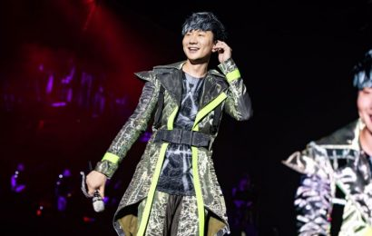 JJ Lin caught parking his BMW illegally in Taipei