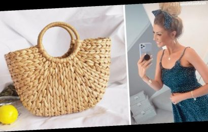 Mrs Hinch shows off her latest eBay fashion purchase after successfully tracking down straw summer handbag