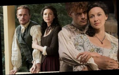 Outlander boss speaks out on Jamie and Claire Fraser stars' chemistry: 'Genuine affection'