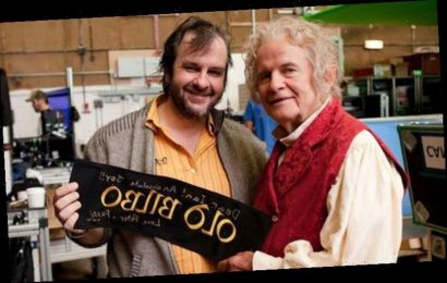 Lord of the Rings director Peter Jackson shares Ian Holm tribute 'I became so fond of him'