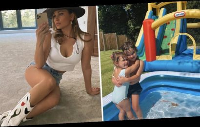 Inside Sam Faiers' incredible Surrey home as she shares glimpse at amazing garden with play area
