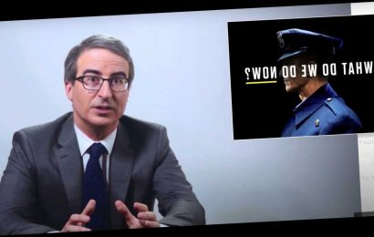 John Oliver Expertly Disarms Right-Wing Talking Points Over 'Defund The Police'