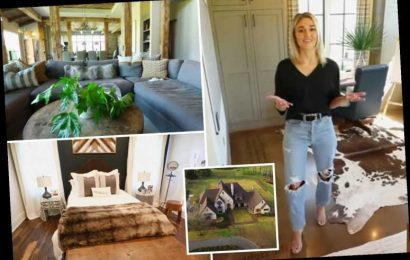 Duck Dynasty's Sadie Robertson gives tour of massive Louisiana family mansion featuring outdoor kitchen and tennis court – The Sun