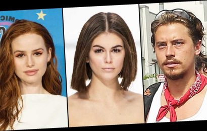 Cole Sprouse Protests With Kaia Gerber, Madelaine Petsch and More
