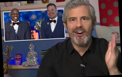 Andy Cohen officiates virtual gay wedding on Watch What Happens Live for two fans in honor of Pride Month – The Sun