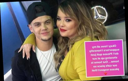 Teen Mom OG star Catelynn Lowell begs fans to 'quit showing up at our home' and 'respect our safe place' – The Sun