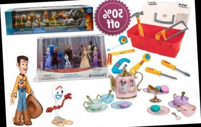 Disney has an up to 50% off toy sale including Frozen and Toy Story