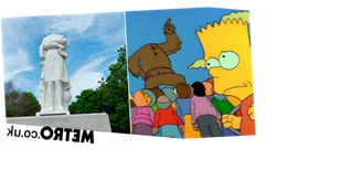 Did The Simpsons 'predict' Christopher Columbus statue beheading?
