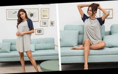 This Cozy Nightgown Can Totally Double as a Cute T-Shirt Dress