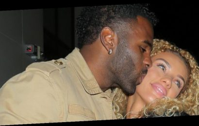 Jason Derulo Gives Girlfriend Jena Frumes a Sweet Kiss After Their Dinner Date